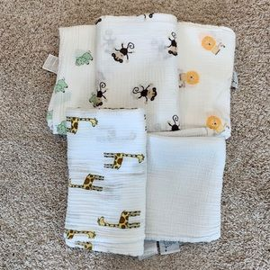 (Aden & Anais) Muslin Swaddle Blanket Bundle